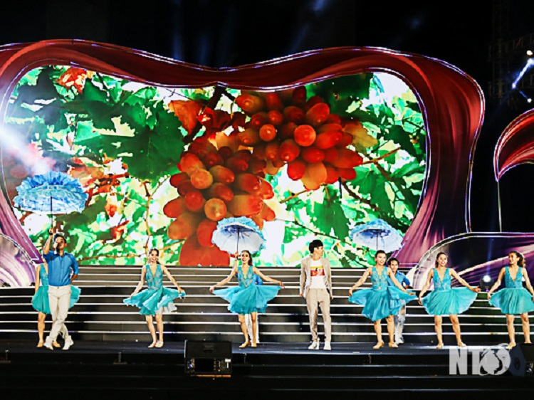 Lễ hội vang nho Ninh Thuận 2019