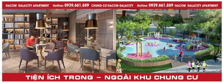 Tiện ích chung cư Hacom Galacity Ninh Thuận