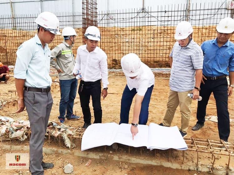Lãnh đạo công ty CP Thành Đông Ninh thuận kiểm tra công tác thi công tạo Dự án