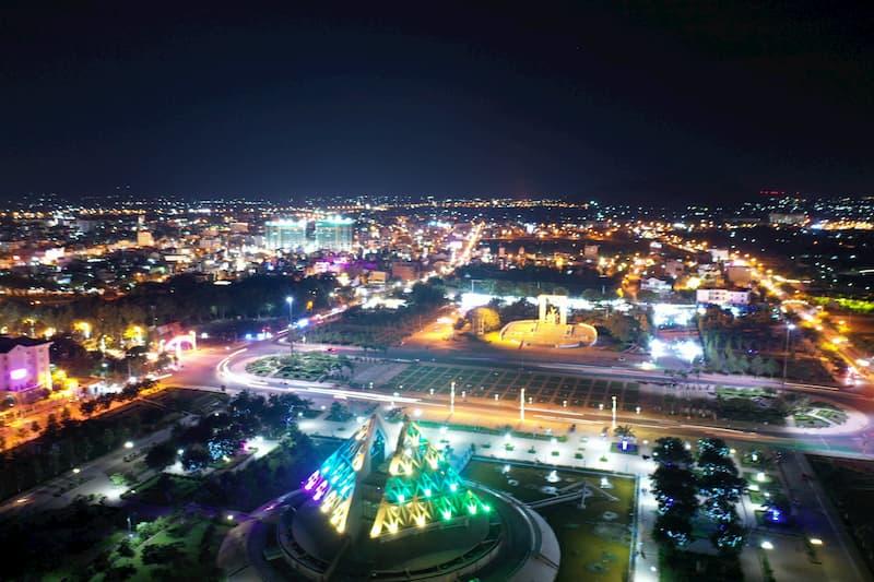 Góc quảng trường 16 tháng 4 Ninh Thuận