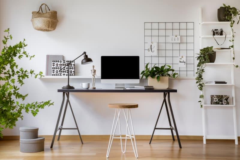 Bố trí không gian làm việc tại nhà đạt hiệu quả cao