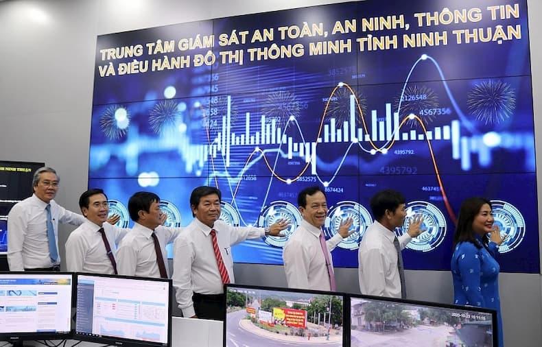 Trung tâm giám sát đô thị thông minh tỉnh Ninh Thuận