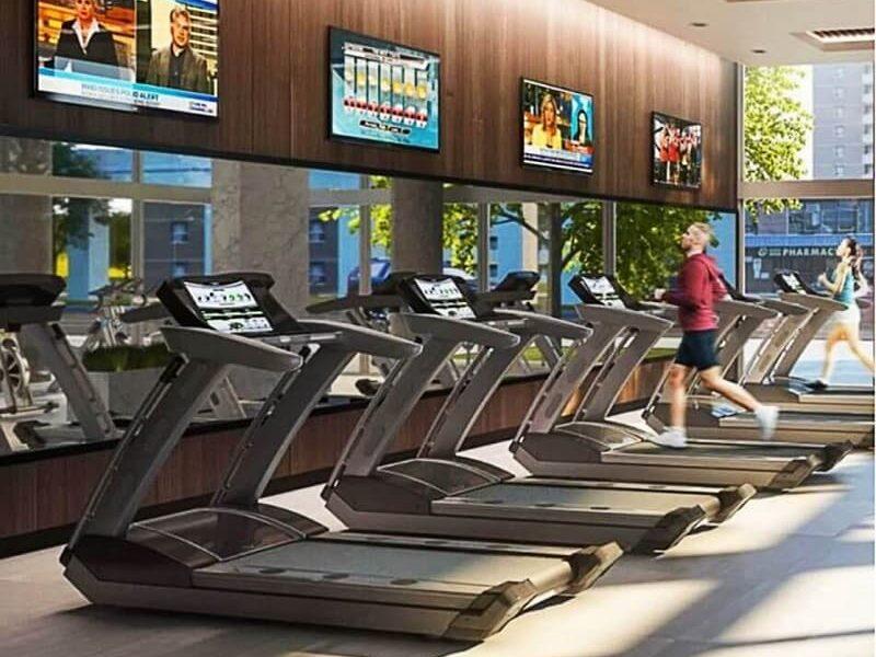 Phòng tập Gym tại Hacom Mall