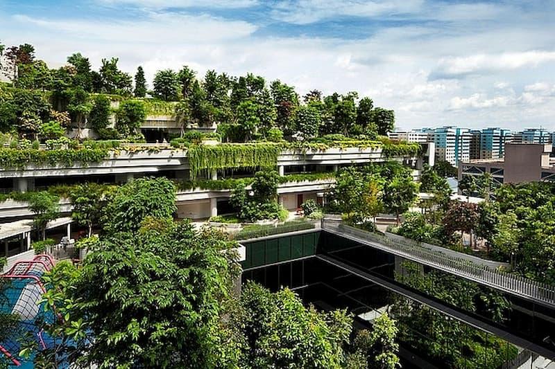 6 kỳ quan kiến trúc độc đáo singapo