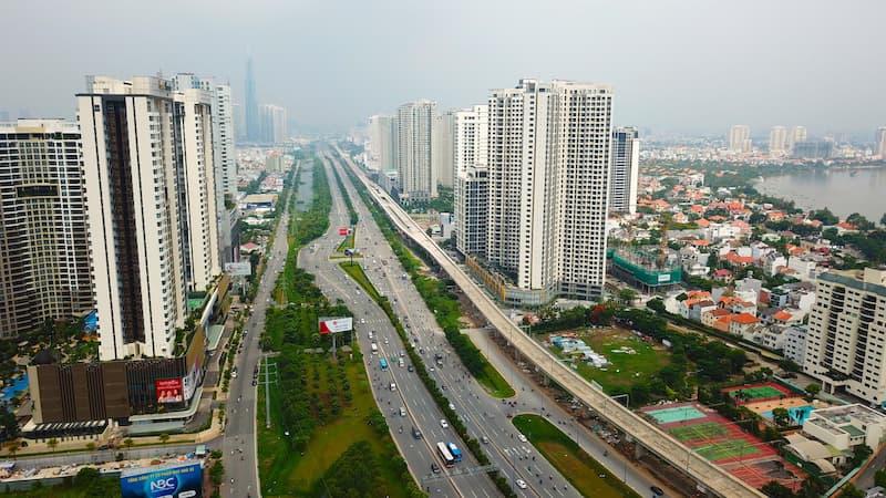 nhiều ông lớn địa ống phía bắc nam tiến thị trường bất động sản phía nam